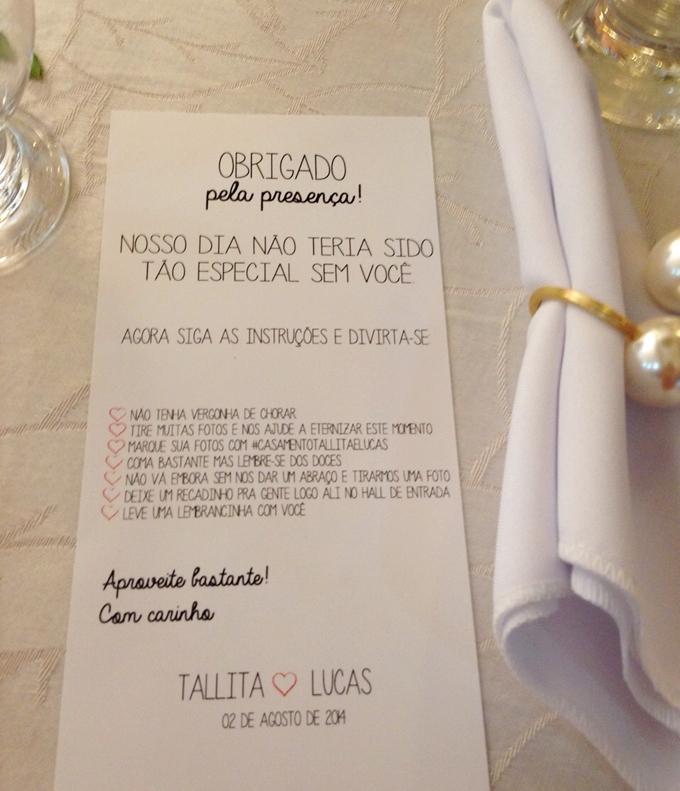 DIY decoração casamento Personalize seu casamento  Tallita Lisboa