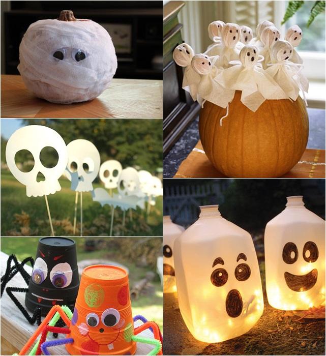 10 Ideias de decoraç u00e3o para Festa de Halloween Tallita Lisboa Blog # Decoração De Festas De Halloween