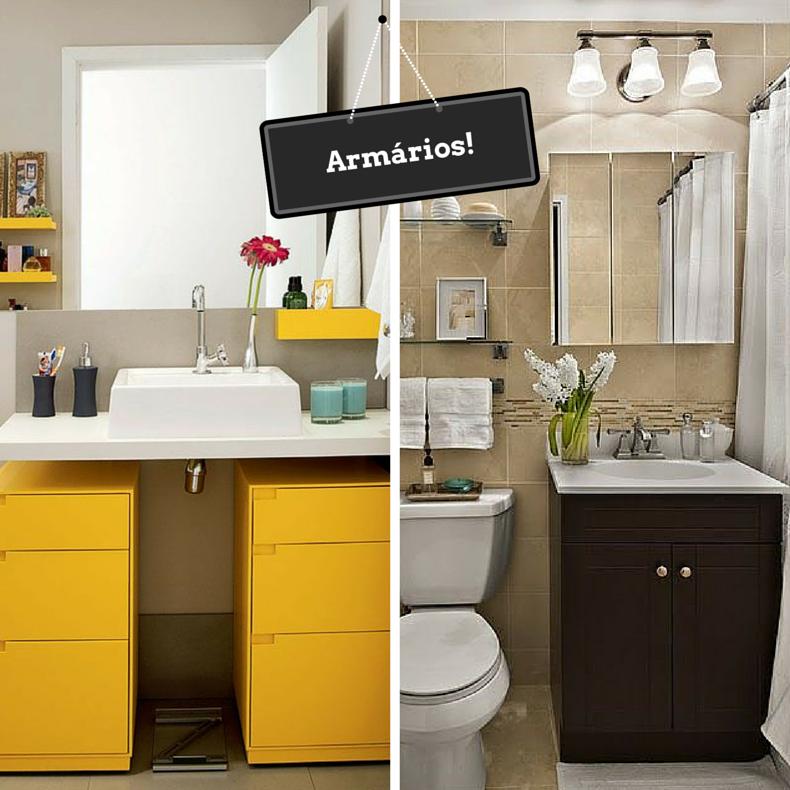 Blog Oolha Isso -> Banheiro Pequeno E Organizado