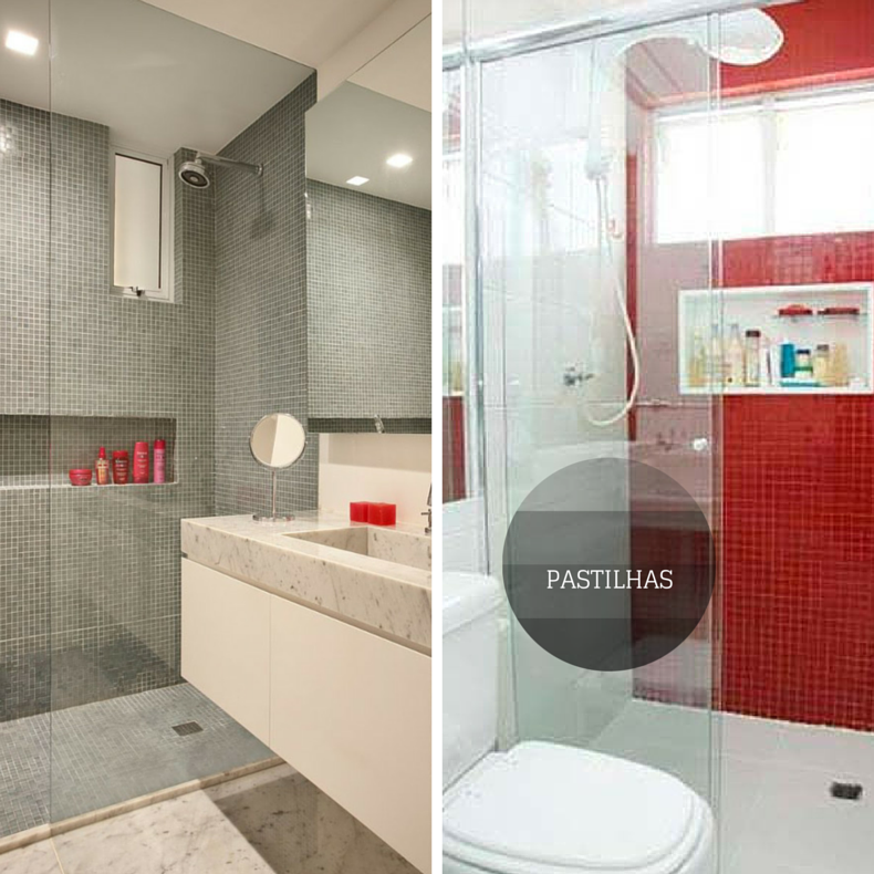 #474474 Banheiros Simples E Com Pastilhas Fotos E ModelosTattoo  790x790 px modelo de banheiro simples e pequeno
