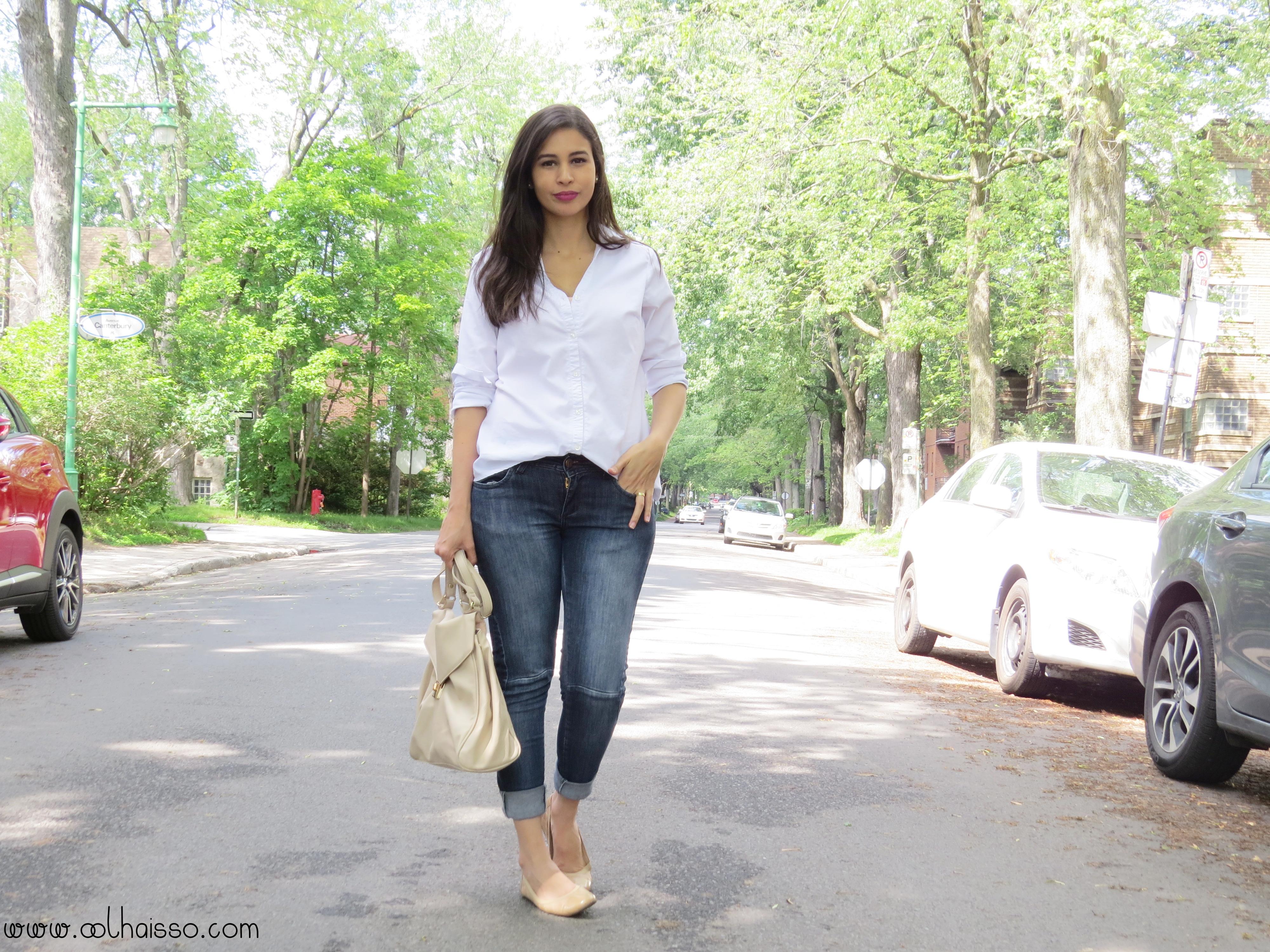 a27546e7d Jeans e camisa branca - como incrementar esse look? | Tallita Lisboa ...