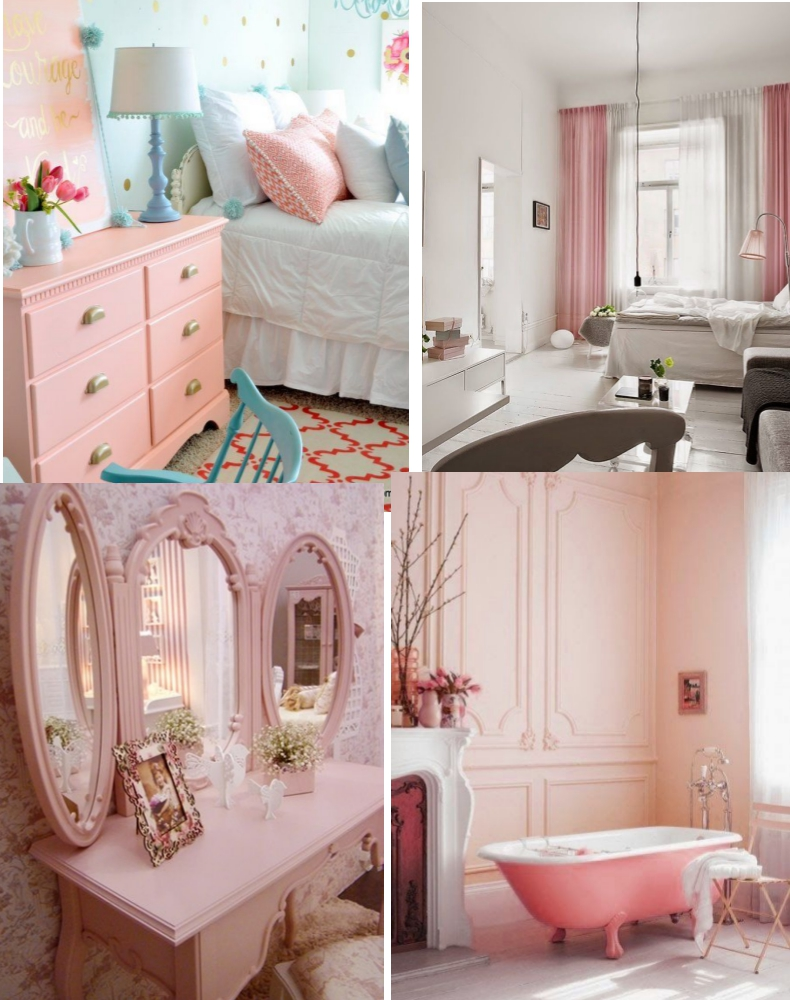 Como Usar Rosa Quartzo Na Decora O Da Sua Casa Tallita Lisboa Blog ~ Quarto De Bebe Lindo E Decoracao Quarto Retro