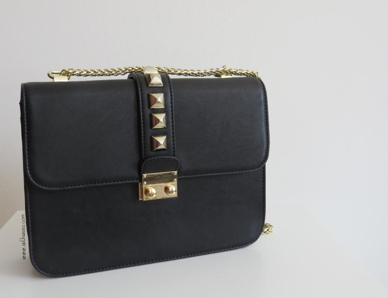 Bolsa Dourada Com Corrente : Bolsa isadora valentino inspired tallita lisboa