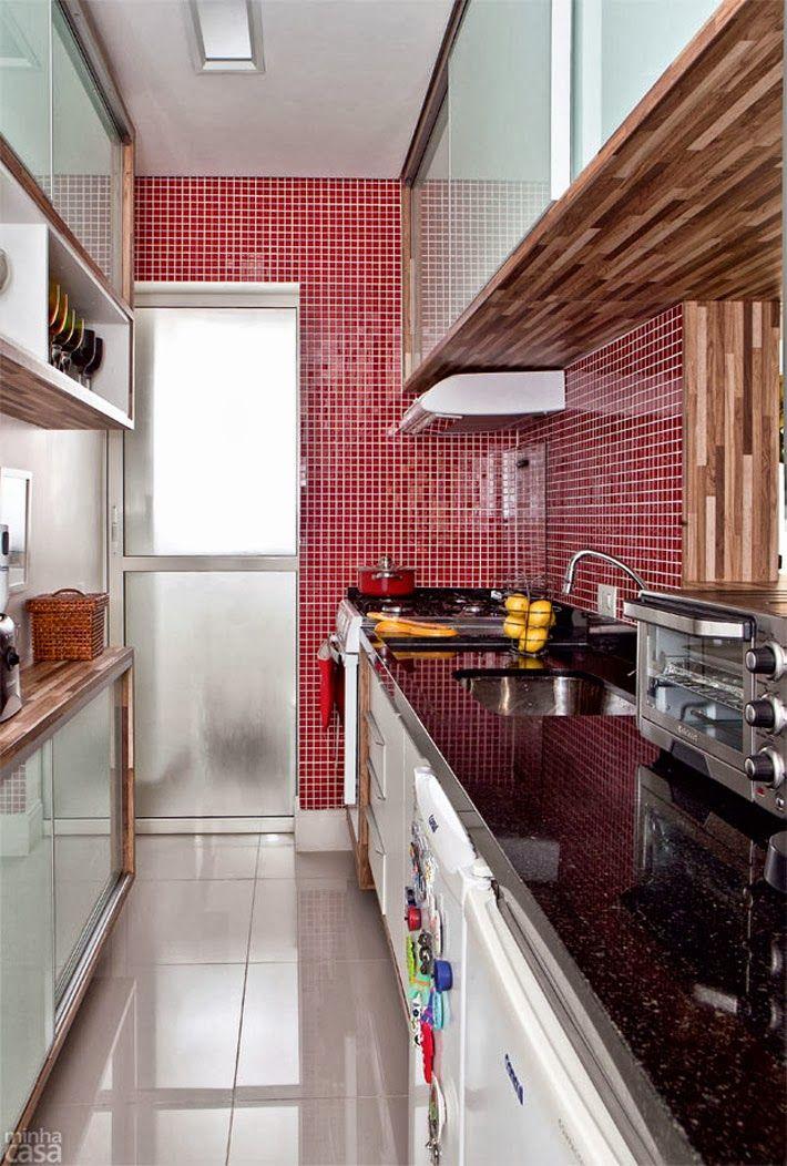 Excepcional Como usar vermelho na cozinha - 7 ideias legais! | Tallita Lisboa Blog VI33