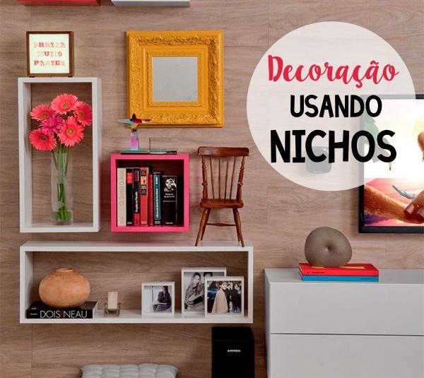 Decora??o usando nichos - veja 10 formas de usar Tallita Lisboa ...