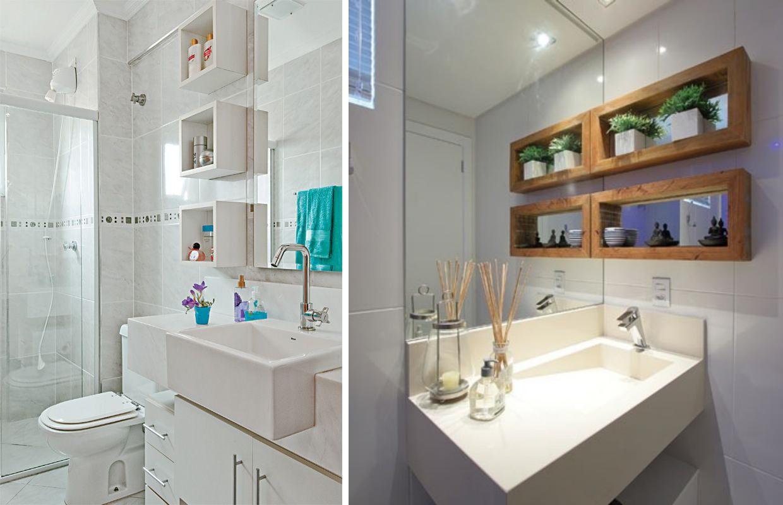 nichos na cozinha e também curti usar os nichos nos banheiros fica #16898E 1240 800