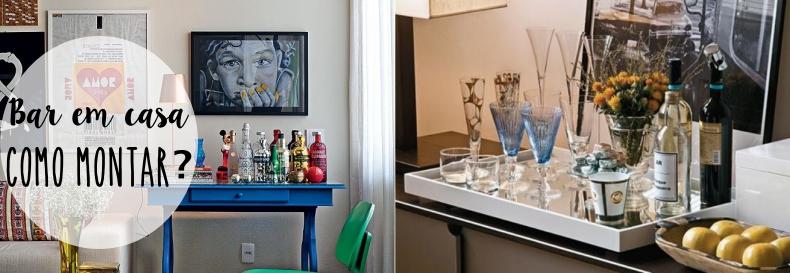 Como montar um bar em casa? Essenciais para um home bar Tallita Lisboa Blog -> Decoração De Home Bar