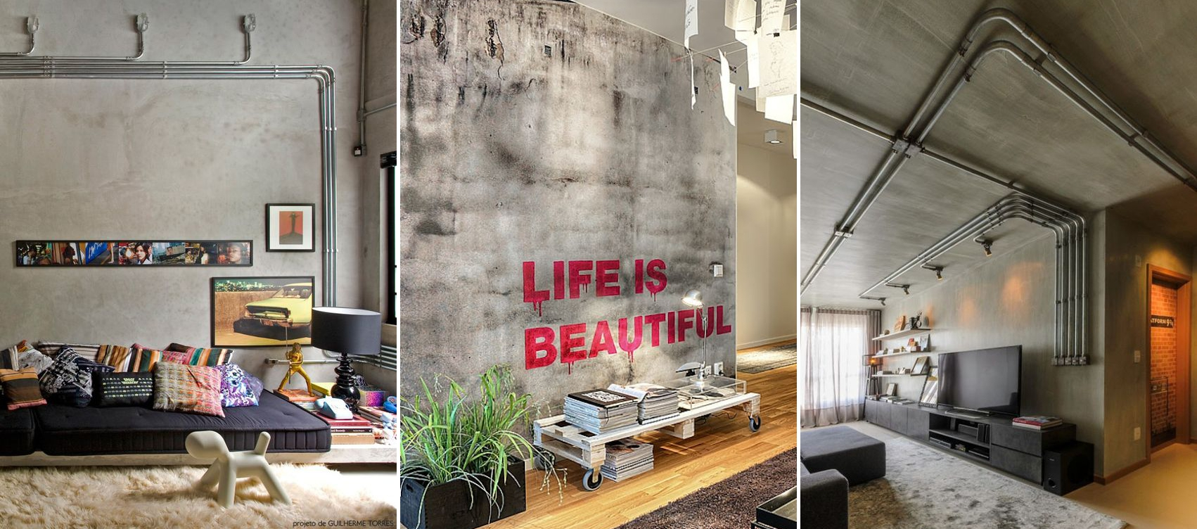 Decora O Industrial Como Fazer Na Sua Casa Tallita Lisboa Blog