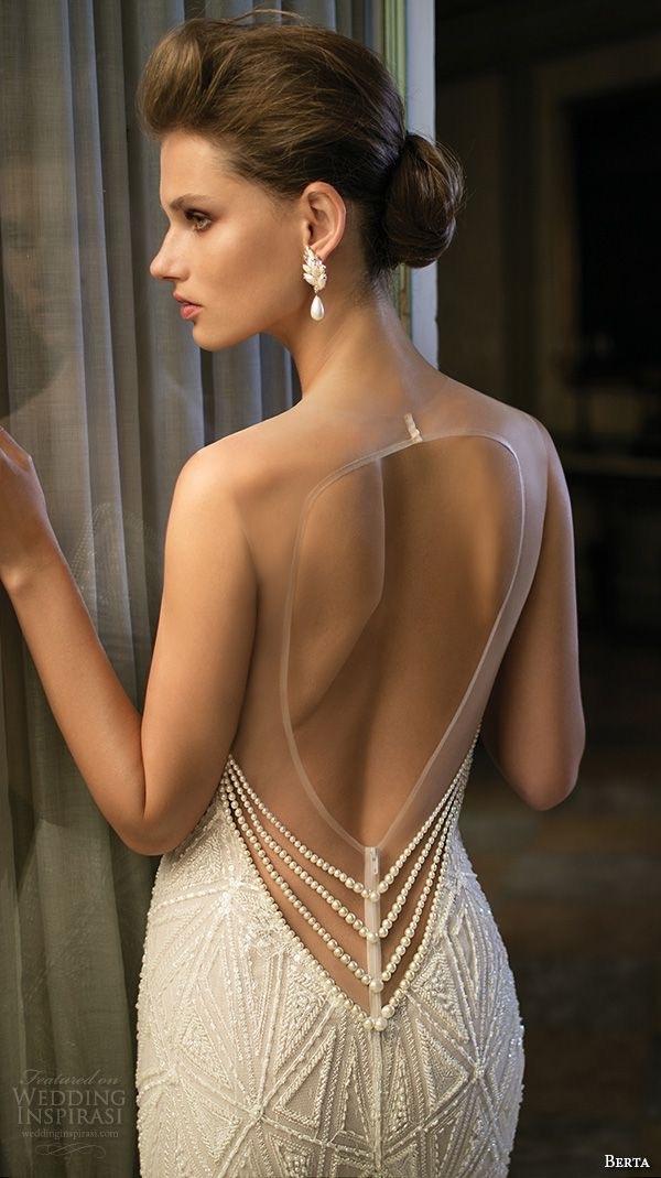 vestido de noiva decotado nas costas - blogoolhaisso