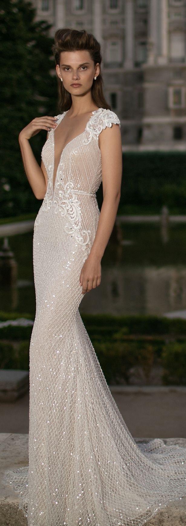 vestido de noiva decotado sexy e lindo - blogoolhaisso