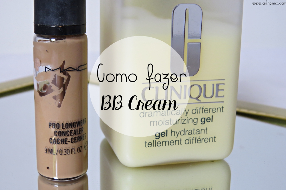 truques de maquiagem - como fazer bb cream em casa