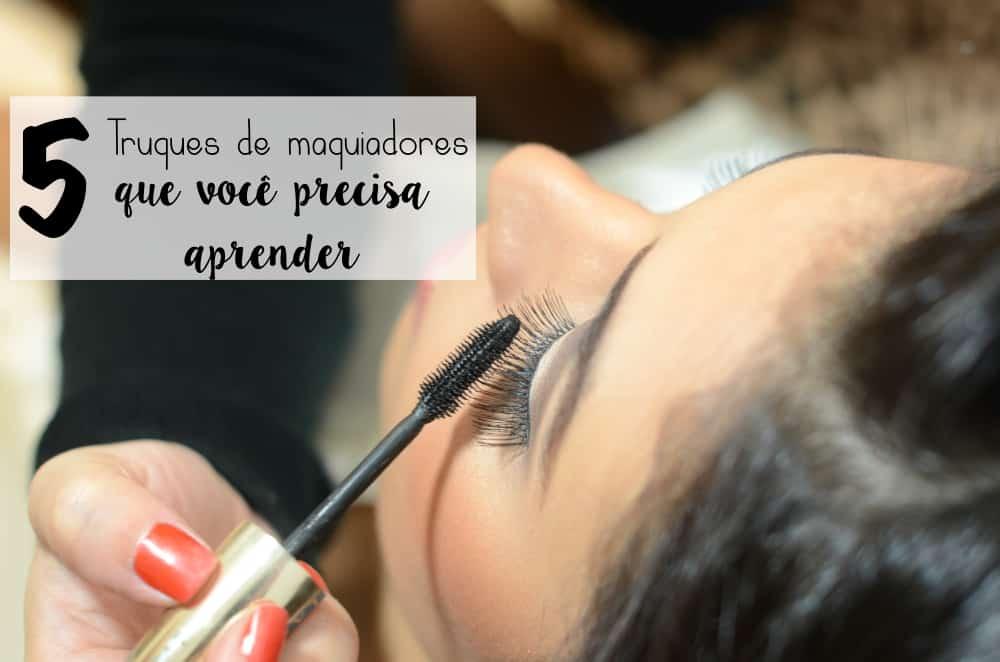 5 truques de maquiagem que você precisa aprender
