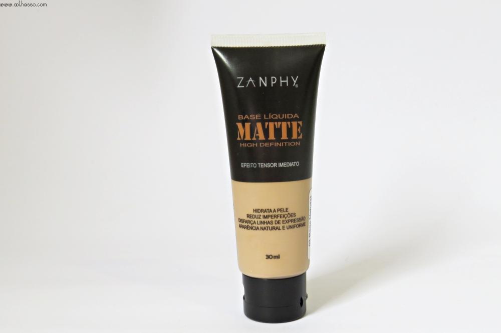 base matte zanphy efeito tensor