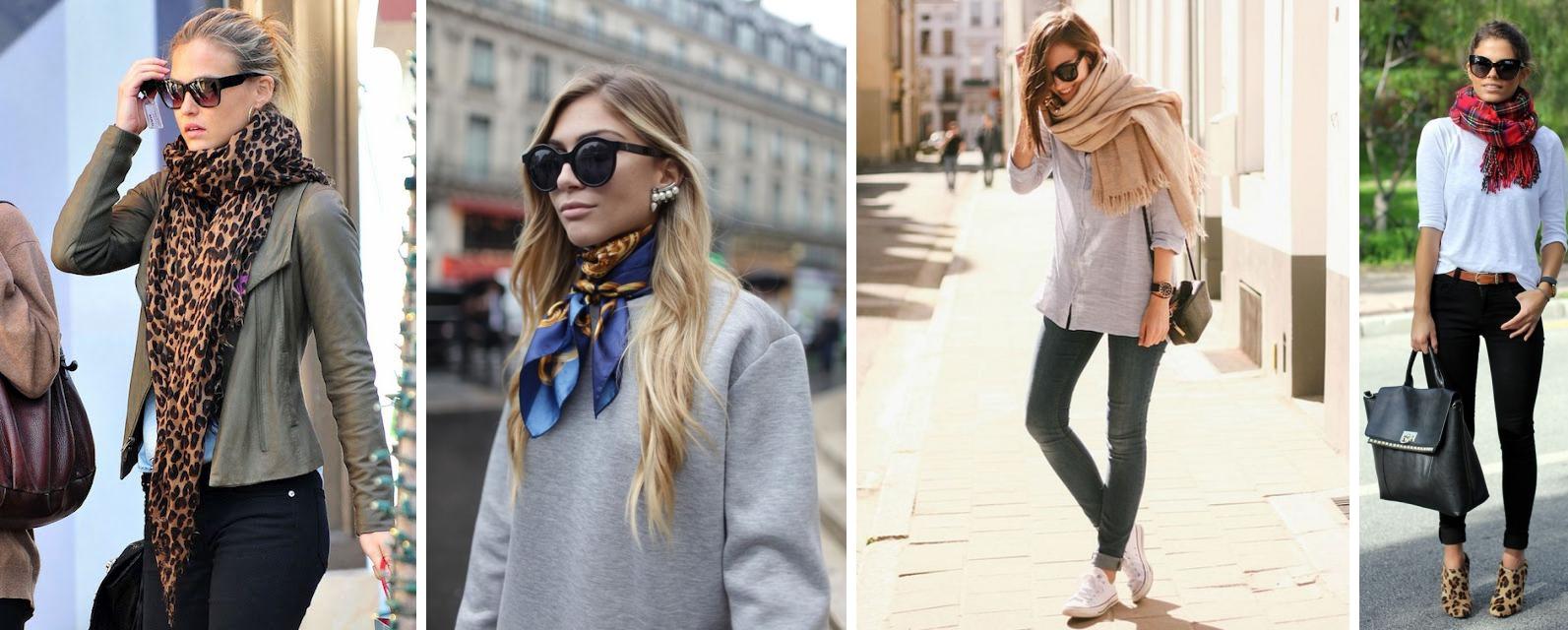 dicas de estilo no inverno como usar encharpe lenco