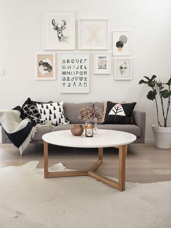 mesas de centro redonda