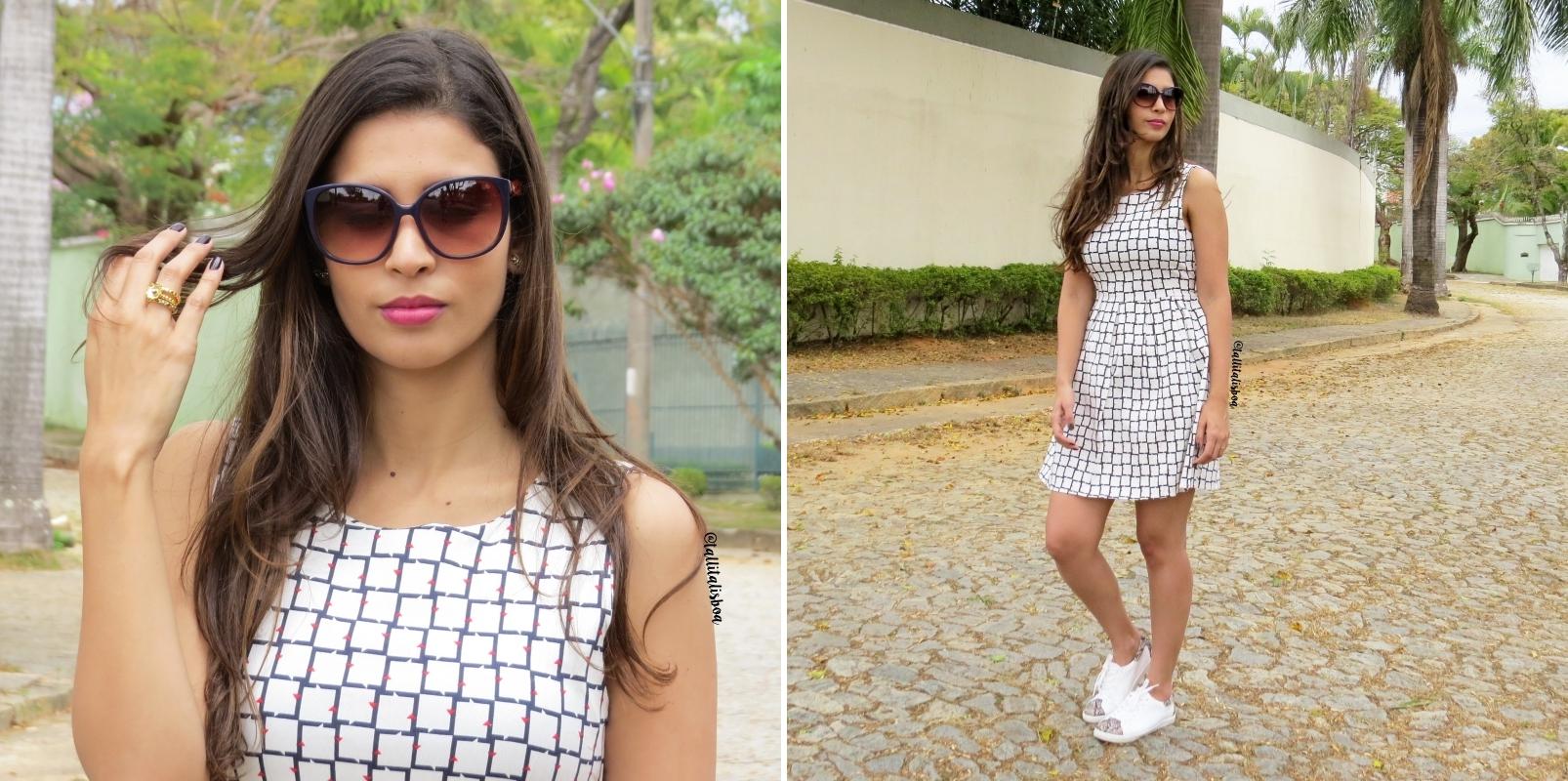 d8860c3ac Como usar vestido com tênis? | Tallita Lisboa Blog