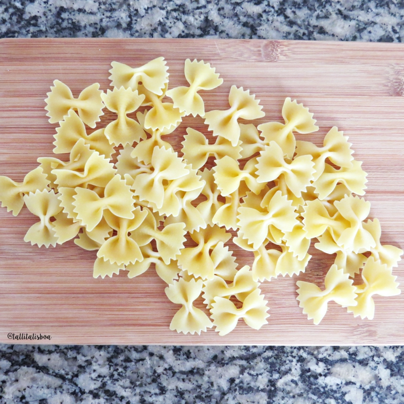 ingredientes-receita-simples-farfalle-caprese