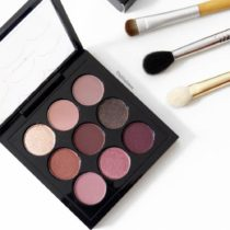paleta de sombras mac cosmeticos burgundy times nine
