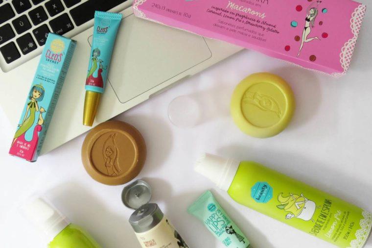 top 5 produtos da the beauty box