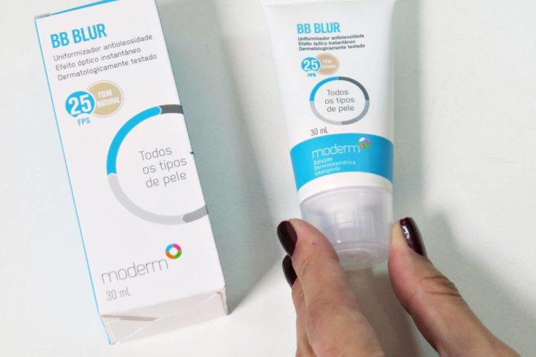 bb blur moderm para todos os tipos de pele