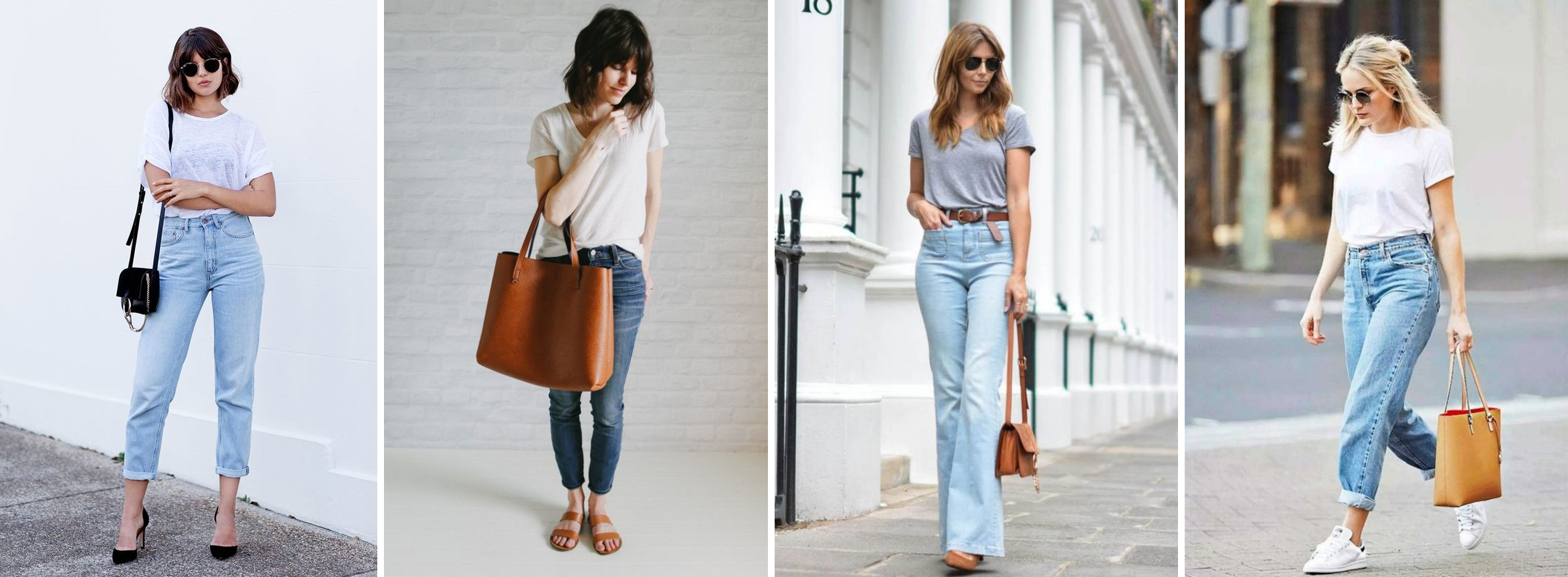 como se vestir no estilo basico jeans e camiseta