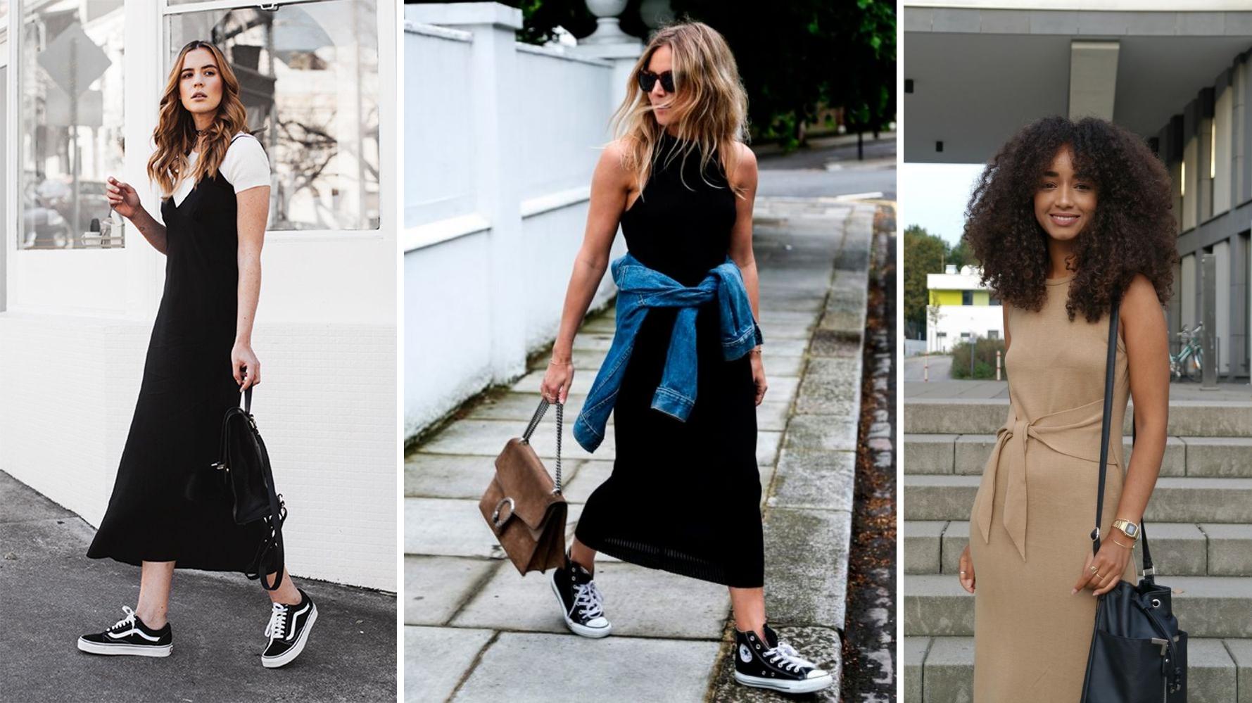 como se vestir no estilo basico vestidos