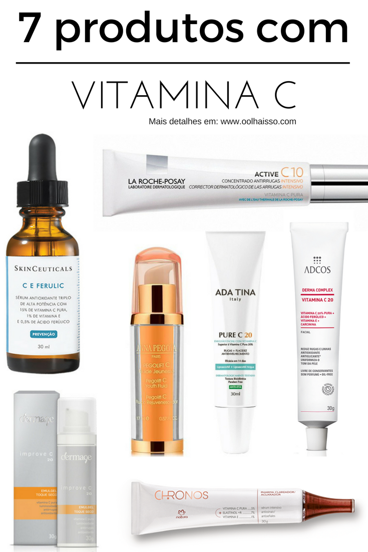 como usar vitamina c na pele 7 produtos com vitamina c