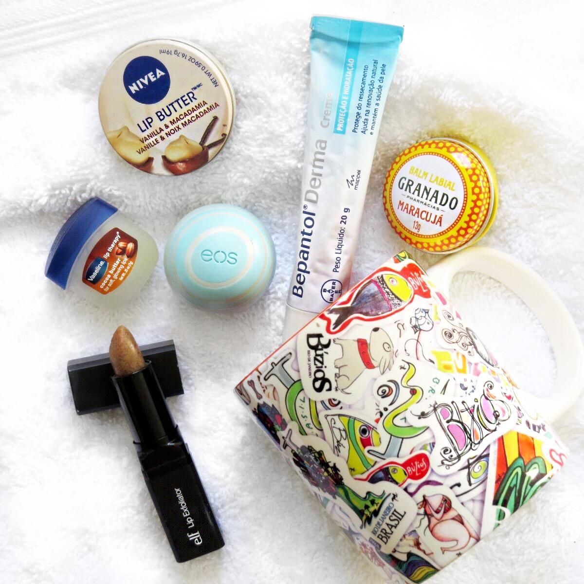 lip balms - como cuidar da pele do rosto no inverno - hidratante labial