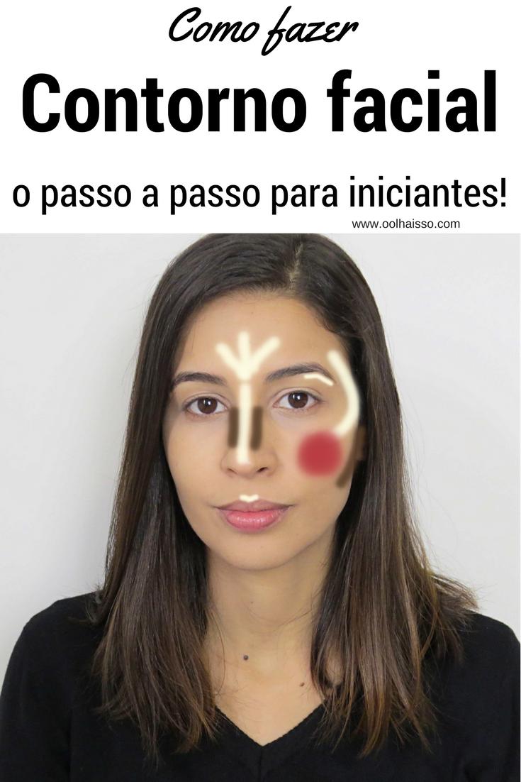 Como fazer contorno facial - o passo a passo para iniciantes