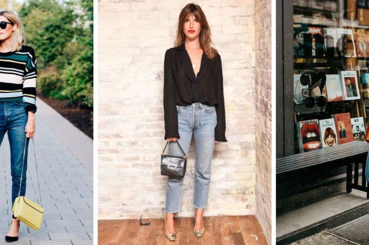 como escolher a calça jeans ideal para cada tipo de corpo - jeans reto