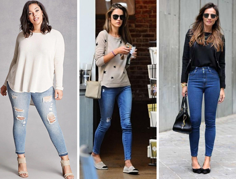 e33608fba ... como escolher o jeans ideal para cada tipo de corpo - jeans skinny