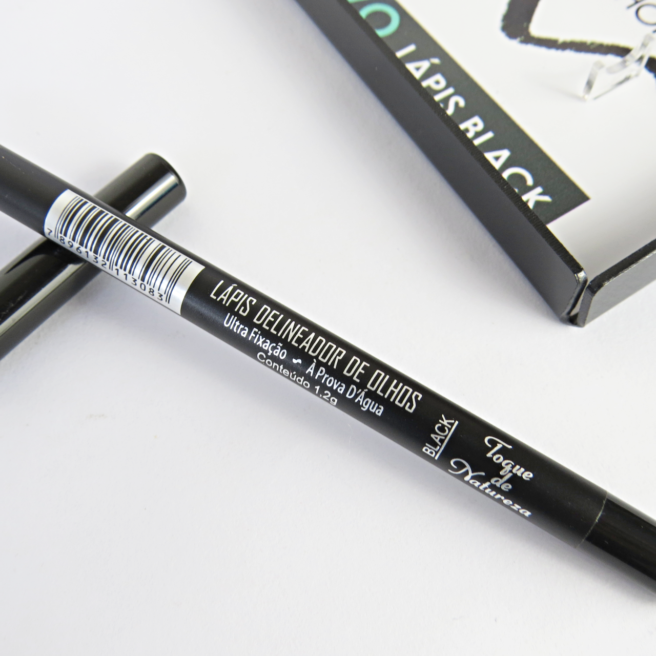lápis para olhos preto toque de natureza