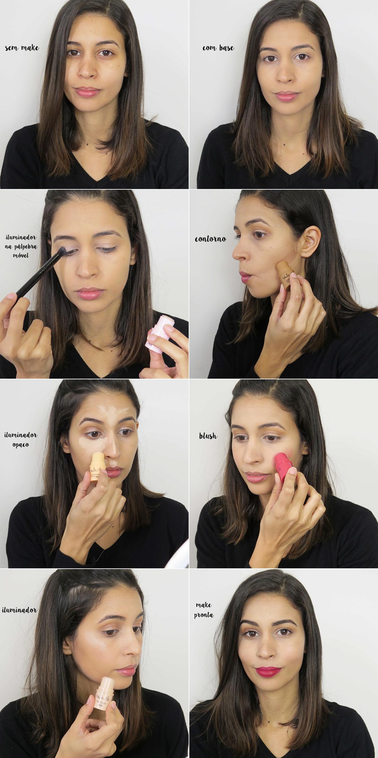 linha sticks vult como fazer contorno no rosto