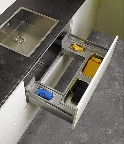 Armário de cozinha prático: você precisa ver estes ... - photo#41