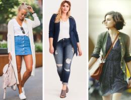 casacos atemporais - como usar cardigan