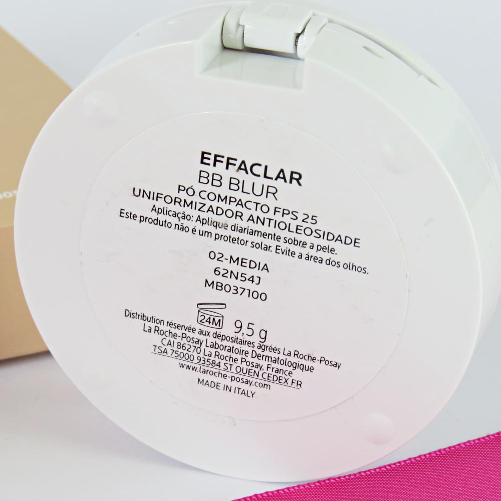 effaclar bb blur po compacto medio controle oleosidade