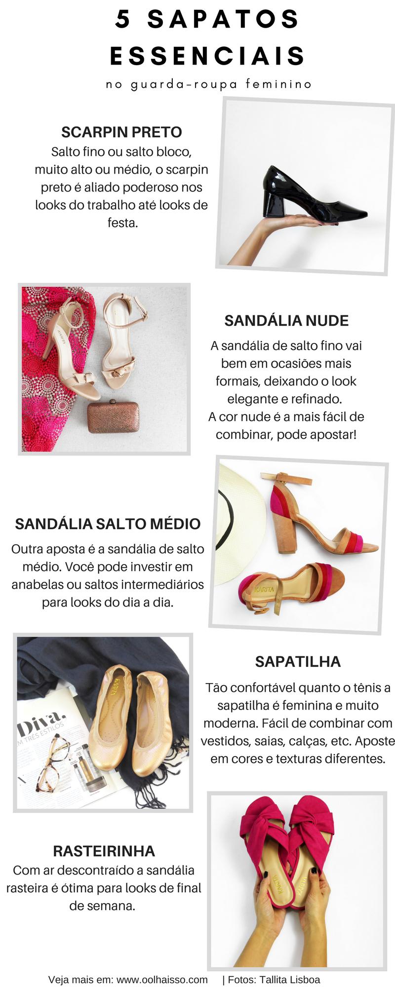 ff97b1488 5 sapatos essenciais no guarda-roupa feminino