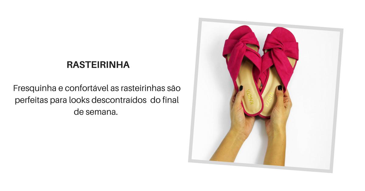 5 sapatos essenciais - rasteirinha
