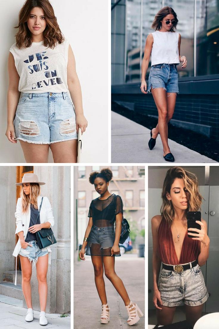 como usar short jeans. modelo de short jeans ideal