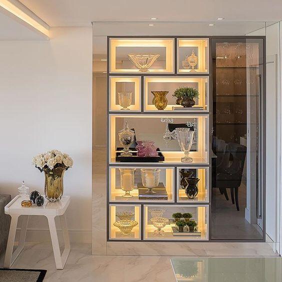 10 maneiras de usar cristaleira na decora o da sua casa tallita lisboa blog - Armarios para sala de estar ...