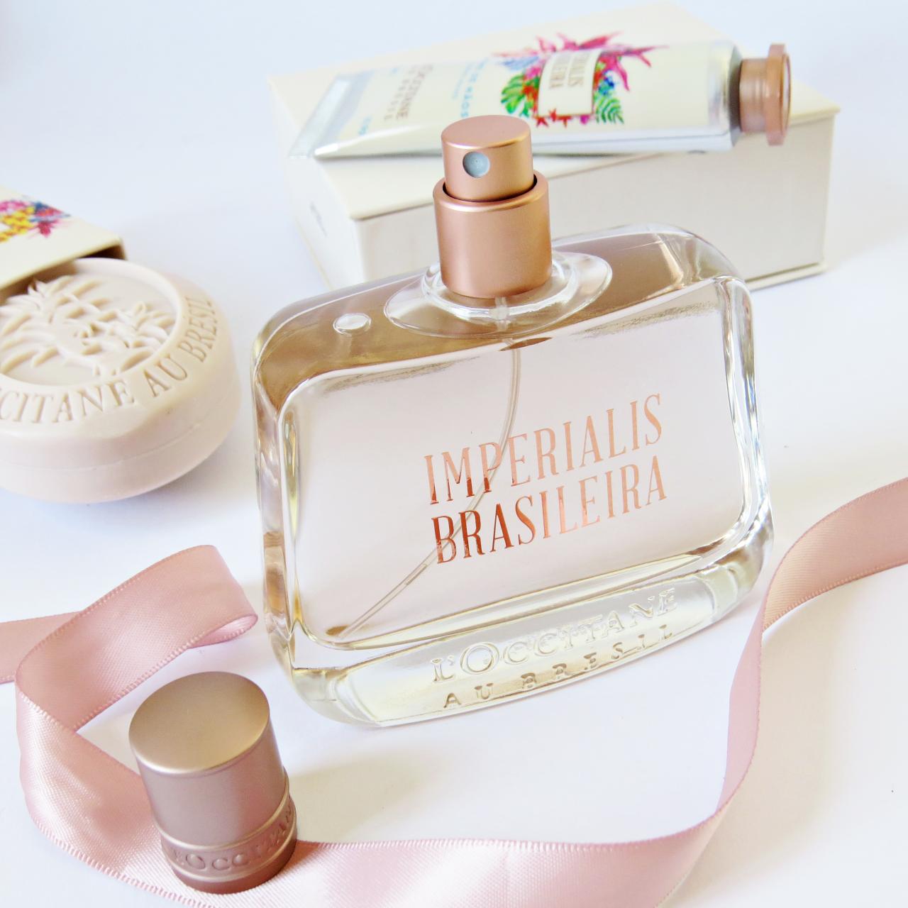 linha imperialis brasileira loccitane au bresil perfume com bromelia