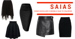 modelos de saias como escolher de acordo com seu corpo