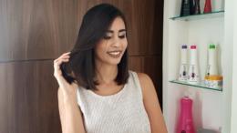 cabelo sem friz com linha top coat Mutari