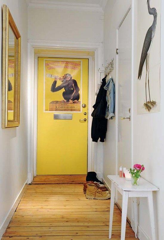Conhecido Hall de entrada: 10 inspirações para tentar no apartamento  AK91