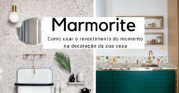 marmorite o revestimento do momento para decorar o seu apartamento.