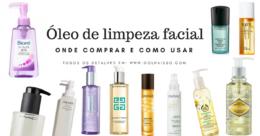 onde comprar oleo de limpeza facial