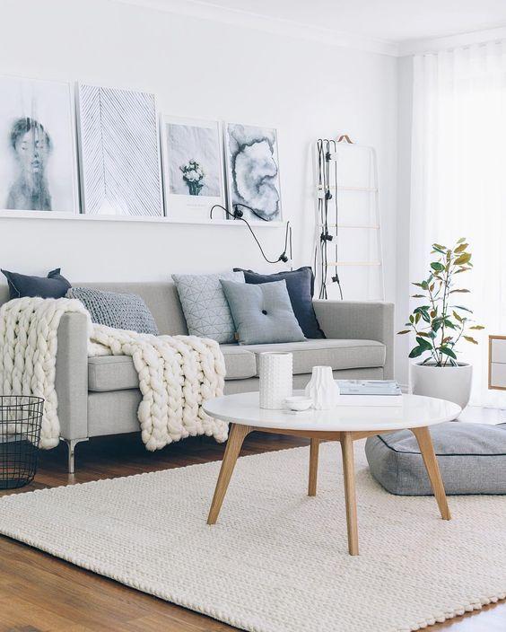 Estilo escandinavo na decoração da sala: 12 maneiras de ...