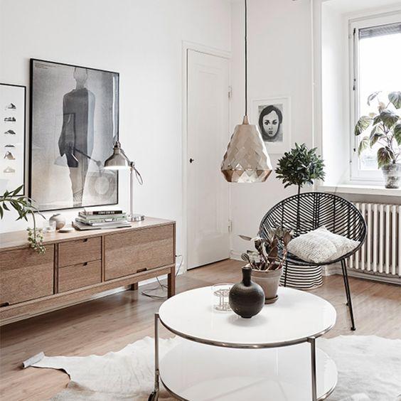 Estilo escandinavo na decora o da sala 12 maneiras de for Casa estilo nordico minimalista
