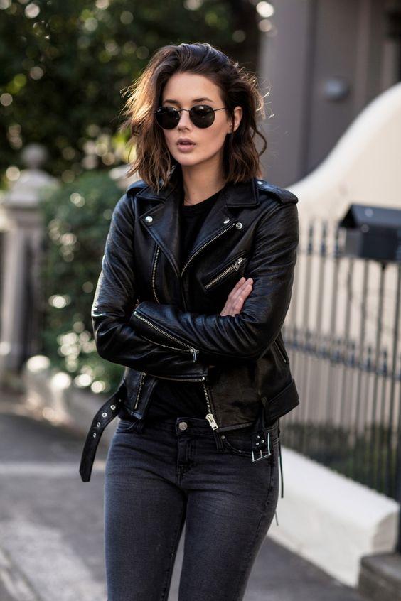 511e78cb15 12 looks usando jaqueta perfecto  a jaqueta de couro estilosa ...