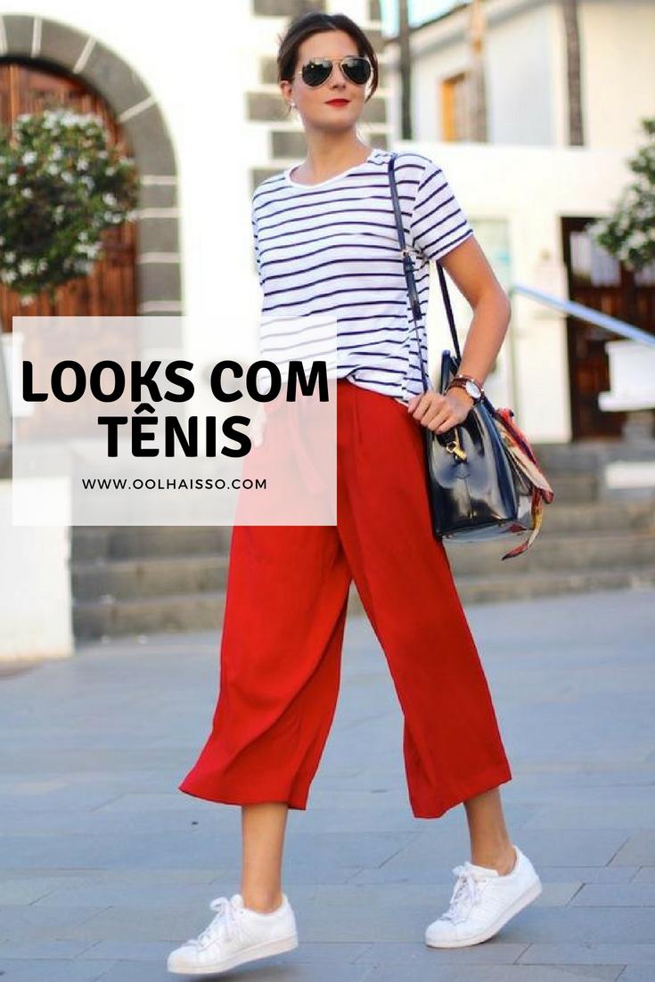 0682d1372 21 looks com tênis pra você ficar estilosa e confortável | Tallita ...